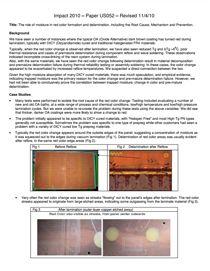 DICY胶片材料中水分的影响及其在棕化颜色变化中的作用